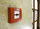 Fire alarm button